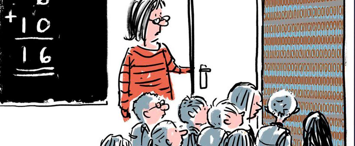 Vi fodrer techgiganter med børns data: Undervisere er for ukritiske over for de digitale løsninger